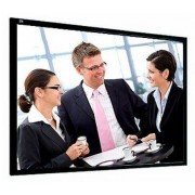 Telas de Projeção Rigidas 350x267cm 4:3 Ecrã Framepro Vision White Pro Profissional Adeo