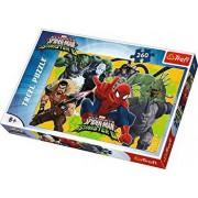 Puzzle Spider-Man in Actiune, 260 piese
