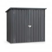Blumfeldt Solid Storage, къщичка за инструменти, листова стомана, защита от атмосферни влияния, брава, антрацит (GDW34-SolidStorage)