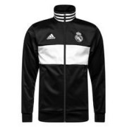 Real Madrid Track Top 3S - Zwart/Wit