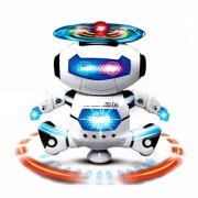 Skywalk Dancing Robot with 3D Lights and Music Multi Color