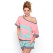 Pijama dama Natalia roz XL