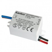 Alimentator electronic LED ADI 350 1x3W 1440 Kanlux