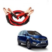 Auto Addict Premium Quality Car 500 Amp Heavy Duty Copper Core Tangle Battery Booster Cable 7.5 Ft For Tata Hexa