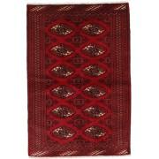 Handgeknüpft. Ursprung: Persia / Iran Turkaman Teppich 101x150 Perserteppich