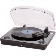 Denver VPL-200 USB gramofon remenski pogon crna