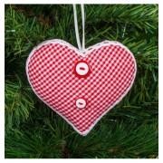 Коледна играчка сърце KIM16