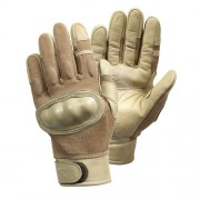 ROTHCO Rukavice HARD KNUCKLE COYOTE BROWN