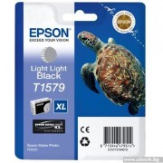 EPSON Light Light Black Inkjet Cartridge T1579 for Stylus Photo R3000 (C13T15794010)