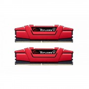 DDR4, KIT 32GB, 2x16GB, 3200MHz, G.SKILL Ripjaws V Red, CL14 (F4-3200C14D-32GVR)