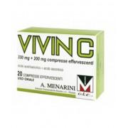 A.Menarini Ind.Farm.Riun.Srl A.Menarini Vivin C 330mg+200mg Terapia Sintomatica Degli Stati Influenzali E Da Raffreddamento 20 Compresse Effervescenti