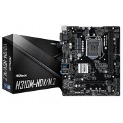 MB, ASRock H310M-HDV/M.2 /Intel H310/ DDR4/ LGA1151