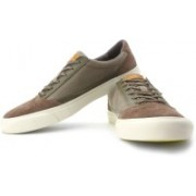 Clarks Tiko Break Sneakers For Men(Khaki, Brown)