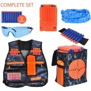 Elite Tactical Vest met tas geschikt voor NERF Speelgoed