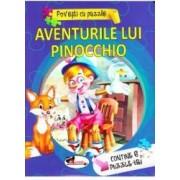 Aventurile lui Pinocchio Povesti cu puzzle
