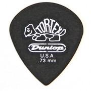 Dunlop 482R.73 Tortex Pitch Black Jazz III .73mm 72/Bag