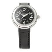 【68%OFF】ラウンドウォッチ ウィメンズ ケース:ブラック ベルト:ブラック ファッション > 腕時計~~レディース 腕時計