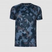 MP Training Men's Camo T-Shirt - Washed Blue - M