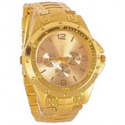 i DIVAS new brand super fast selling fool gold analog watch for men