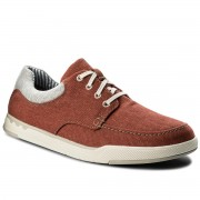 Обувки CLARKS - Step Isle Lace 261327677 Rust Canvas
