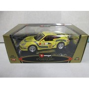 Bburago Gold Collection Porsche GT3 Cup 1:18 Yellow