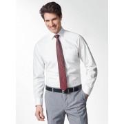 Walbusch Extraglatt-Hemd Kent-Kragen Weiß 44