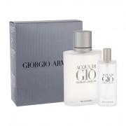 Giorgio Armani Acqua di Gio Pour Homme darovni set toaletna voda 100 ml + toaletna voda 15 ml za muškarce