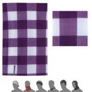 eșarfă Sensor tub cub violet alb 16200163