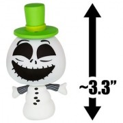 Snowman (White): ~3.3 The Nightmare Before Christmas x Funko Mystery Minis Vinyl Mini-Figure Series [#06]