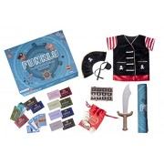 Funklu Educational Treasure Hunt, Fun, Learning & Physical Activity All in One Box for Kids, 3 - 8 Years (Multicolor)