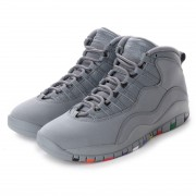 【SALE 5%OFF】ナイキ NIKE kinetics AIR JORDAN 10 RETRO (GREY) メンズ