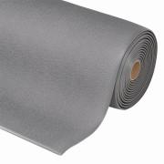Šedá průmyslová protiúnavová rohož - délka 152 cm, šířka 91 cm a výška 0,94 cm