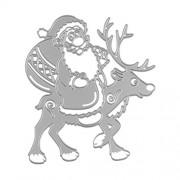 ELECTROPRIME Metal Cutting Dies Stencil Embossing Paper Card Craft Santa Claus Reindeer