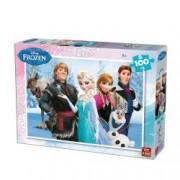 Puzzle 100 piese Frozen