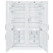 Combinatie frigorifica incorporabila Side by Side Liebherr SBS 66I2, 4 usi, No Frost, Biofresh, IceMaker, 503 l, clasa A++/A++