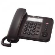 Стационарен телефон Panasonic KX-TS520, черен 1010024
