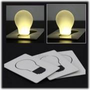 Karta - svítící žárovka