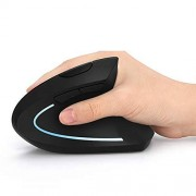 UMEI Ergonomic Mouse High Precision Optical Vertical Mouse Adjustable DPI 800/1200/1600 Wireless mouse ?Excluding batteries?