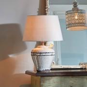 LOBERON Tafellamp Chavin / grijs