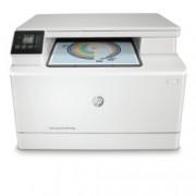 Мултифункционално лазерно устройство HP Color LaserJet Pro MFP M180n, цветен, принтер/копир/скенер, 600 x 600 dpi, 16 стр/мин, LAN100, Wi-Fi, USB, A4