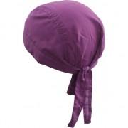 Myrtle Beach Paars hoofddoekje voor volwassenen uni 1