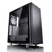 CASE, Fractal Design Define Mini C TG, Window, Black /no PSU/ (FD-CA-DEF-MINI-C-BK-TG)