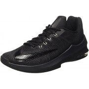 Nike Men s Air Max Infuriate Low Basketball Shoe Black/Anthracite/Dark Grey 11 UK/INDIA 12 D(M) US