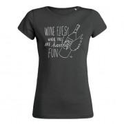 IT-Shirt wine flies black