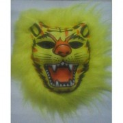 Fancy Dress Tiger Lion Mask Latex Animal Face Mask Costume Party Fancy Mask Cosplay Decorations Face Mask (Assorted)