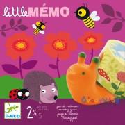 Little Memo Djeco memória társasjáték 2 éves kortól