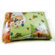 """Бебешко спално бельо """"Мечета в градина"""" - 100% Памук"""