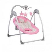 Muzička ležaljka za bebe Jessie - Pink
