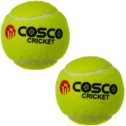 COSCO Light Weight Cricket Tennis Ball Set of 2 PC
