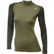 Aclima WarmWool Crew Neck Shirt Women Capulet Olive/Olive Night XS 2018 Sportlinnen
